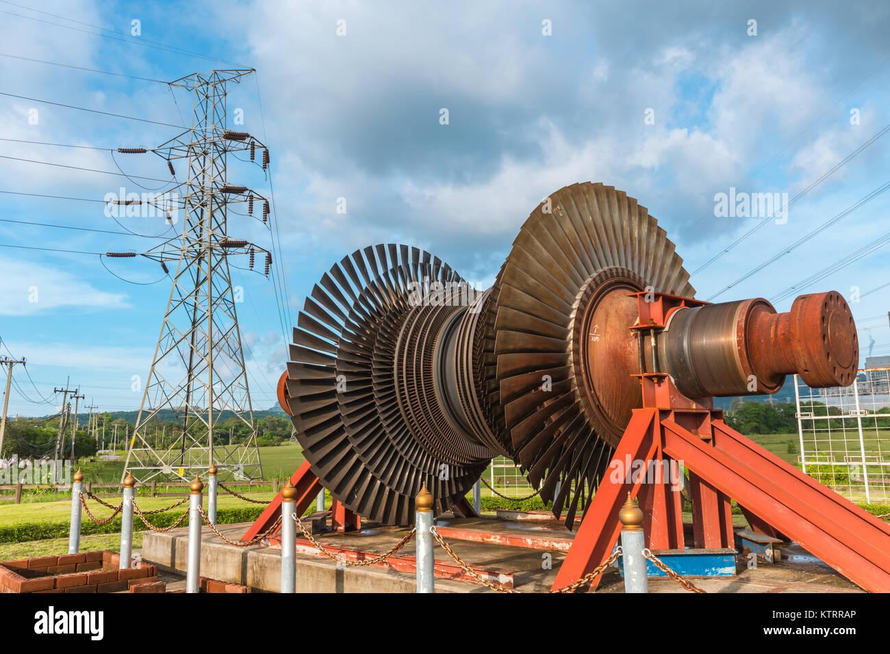 Engine Machine Shop >> Steam Turbine Blades Stock Photos & Steam Turbine Blades Stock Images - Alamy