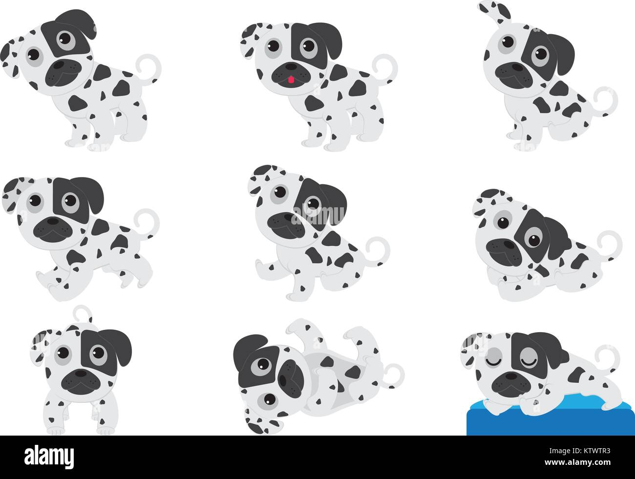 White Spotted Boxer Puppies Wiring Diagrams Viair Manufacturer Price Shipping 90111 Pressure Switch Cartoon Dalmatian Stock Photos Brown And Miniature