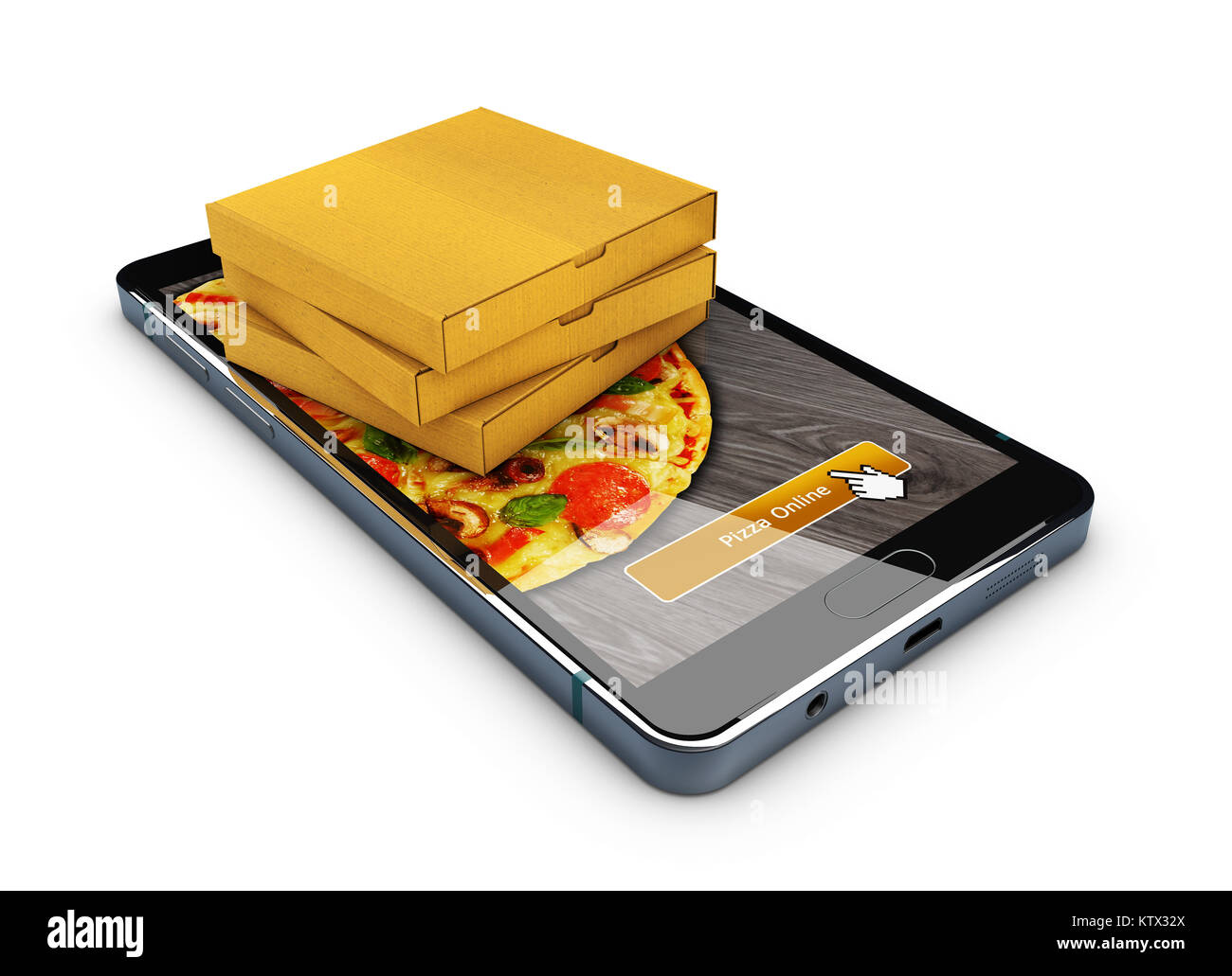 how to order pizza on phone