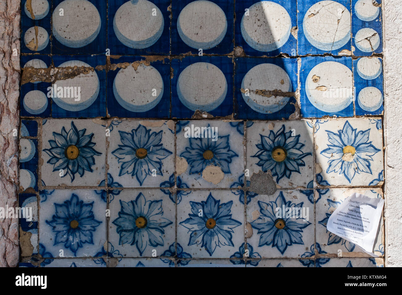Circular tiling stock photos circular tiling stock images alamy portuguese azulejo ceramic tiles with circular and floral patterns decorate the external walls of a dailygadgetfo Gallery