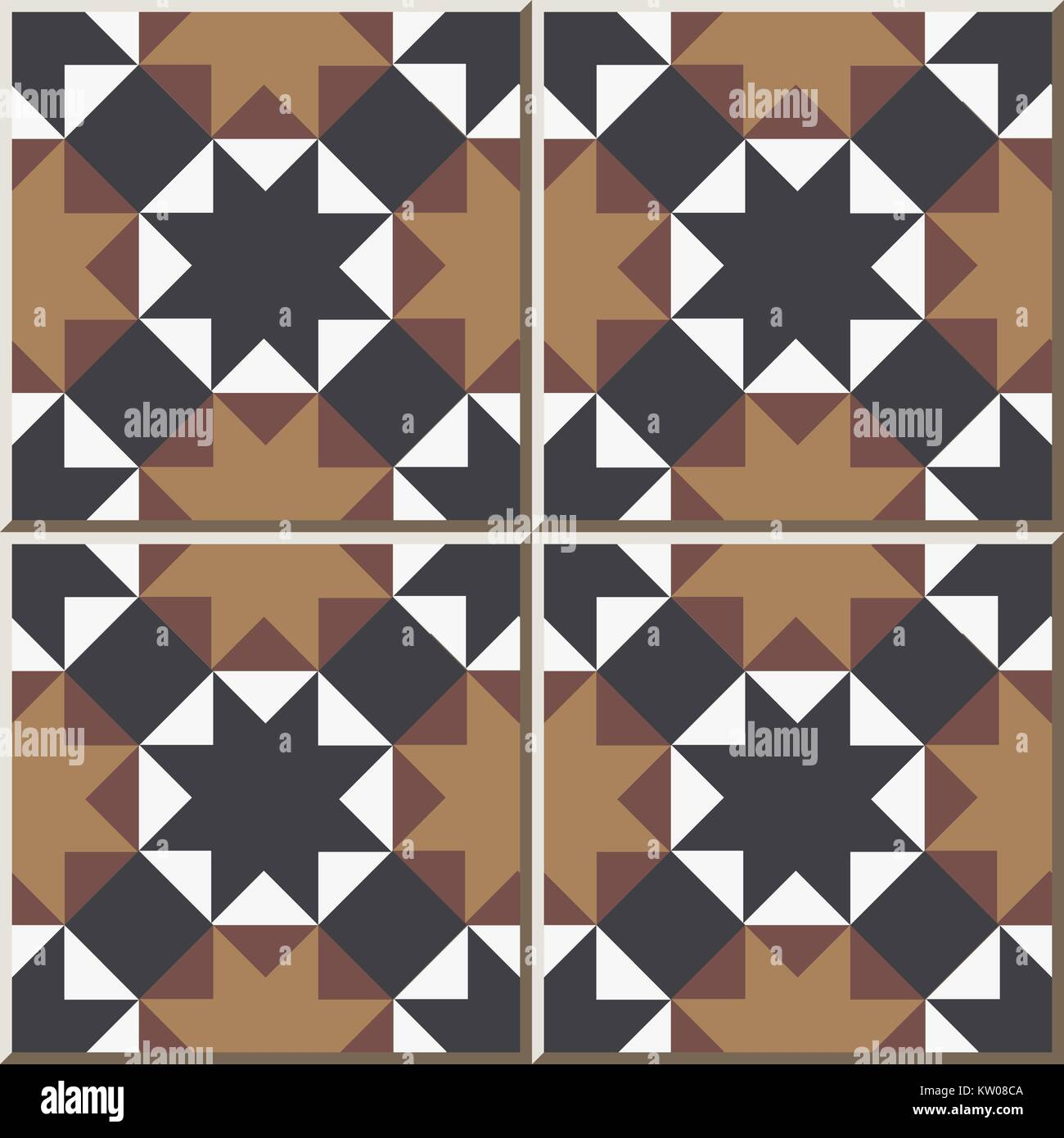 Ceramic tile pattern of octagon star cross triangle geometry stock ceramic tile pattern of octagon star cross triangle geometry dailygadgetfo Image collections