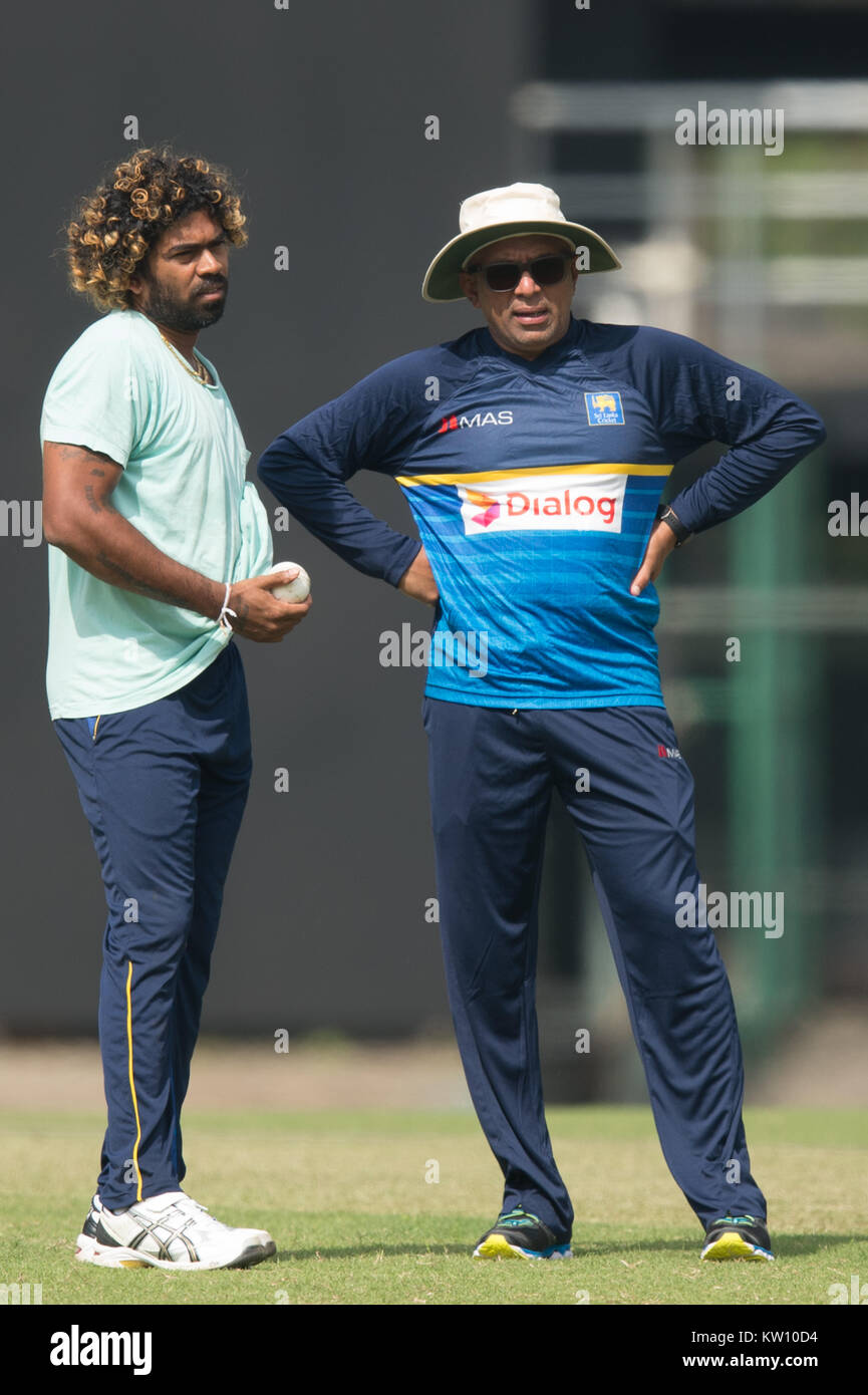 Image result for malinga with chandika hathurusingha