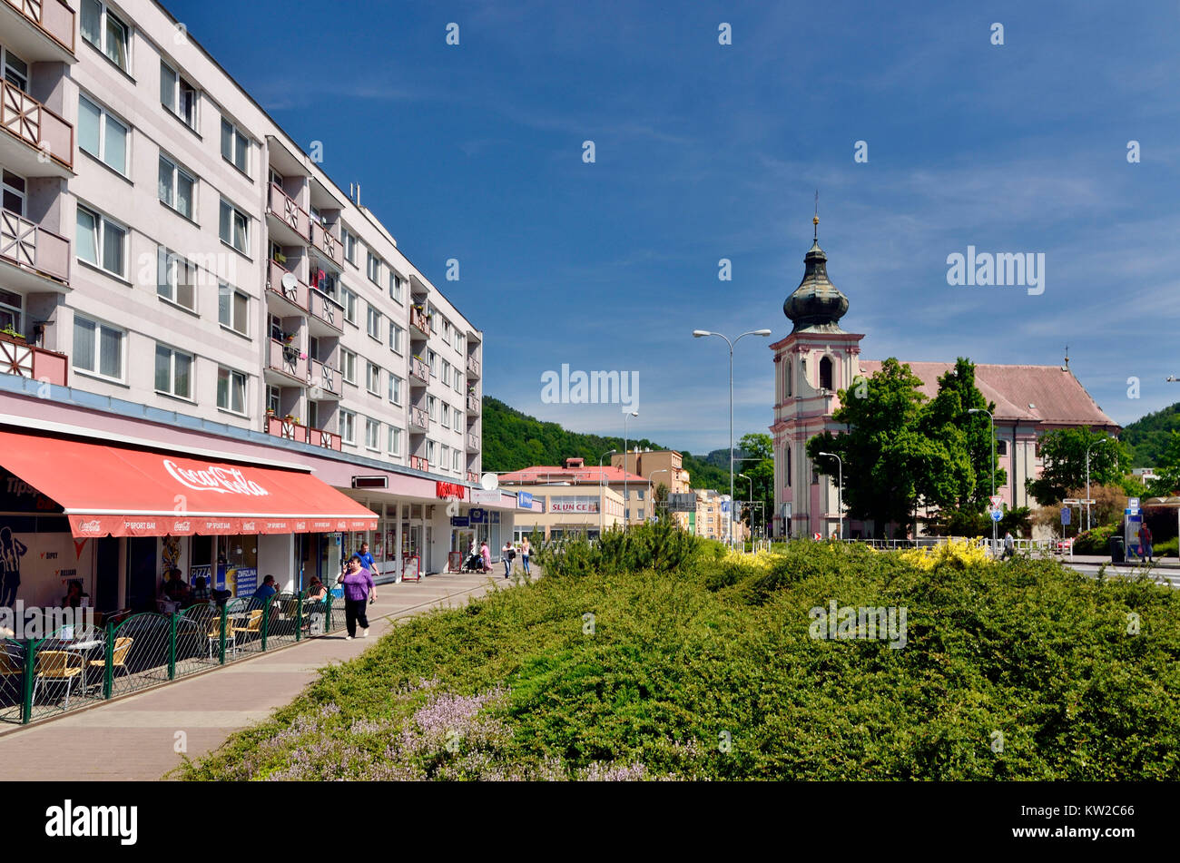 Decin Tschechien decin tetschen czechia decin marketplace and baroque church