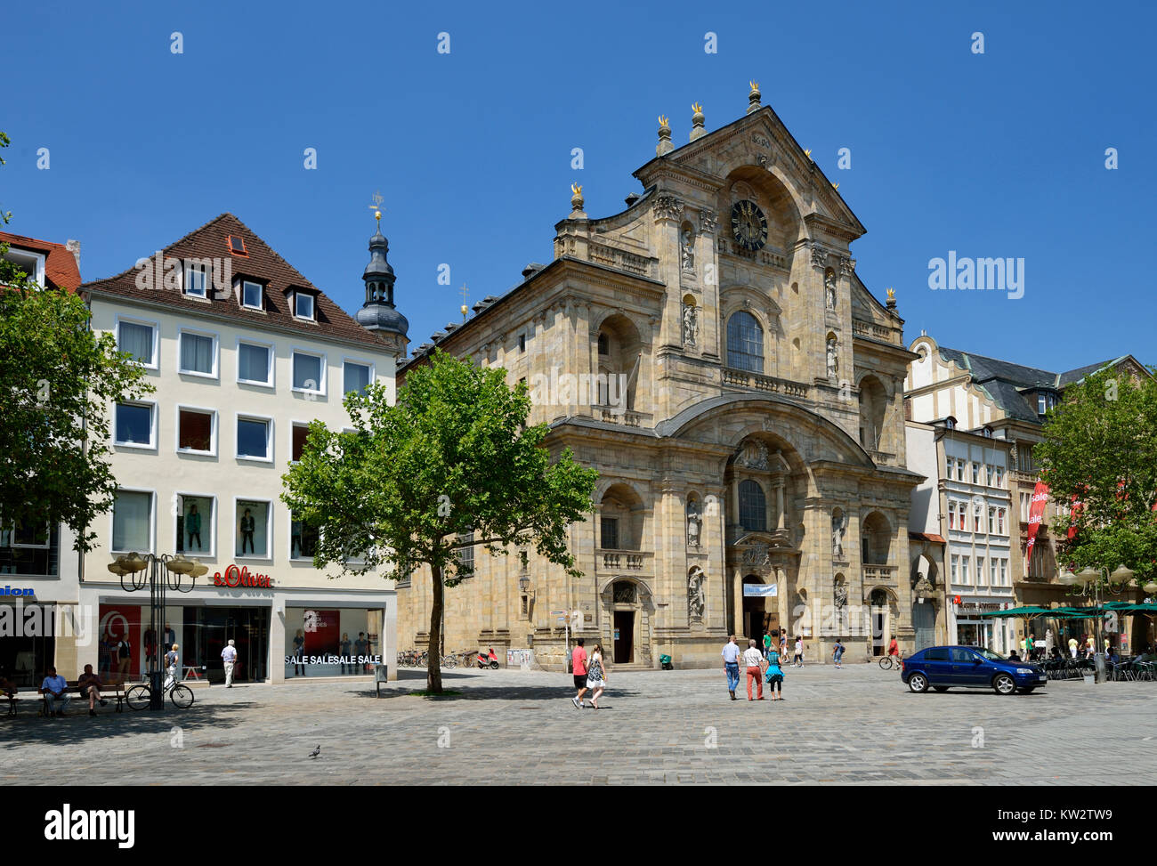 church st martin bamberg stock photos church st martin bamberg stock images alamy. Black Bedroom Furniture Sets. Home Design Ideas