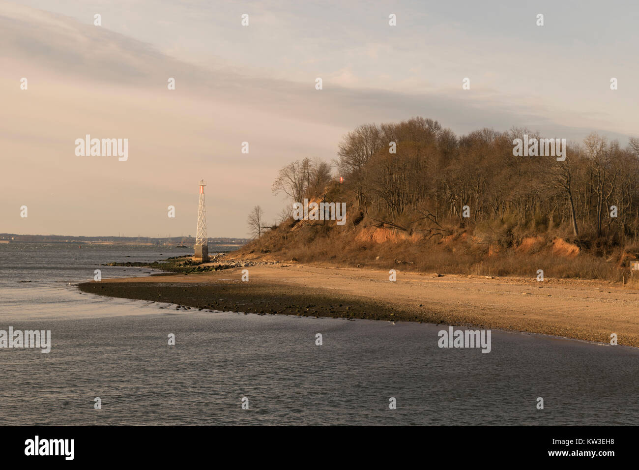 Raritan bay stock photos raritan bay stock images alamy for Staten island fishing