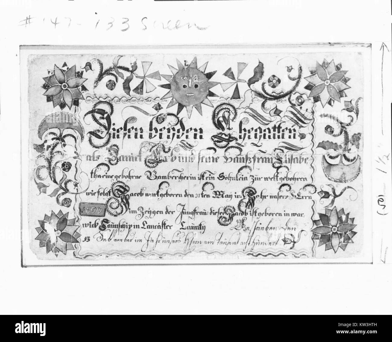 Birth certificate black and white stock photos images alamy birth certificate met 97211 stock image aiddatafo Choice Image