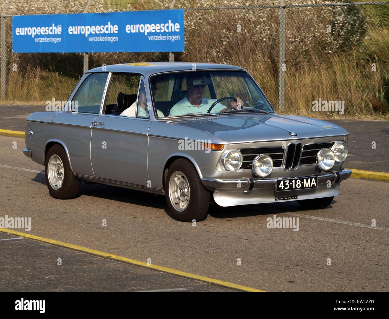 BMW 2002 TI dutch licence registration 43 18 MA pic1 Stock Photo ...