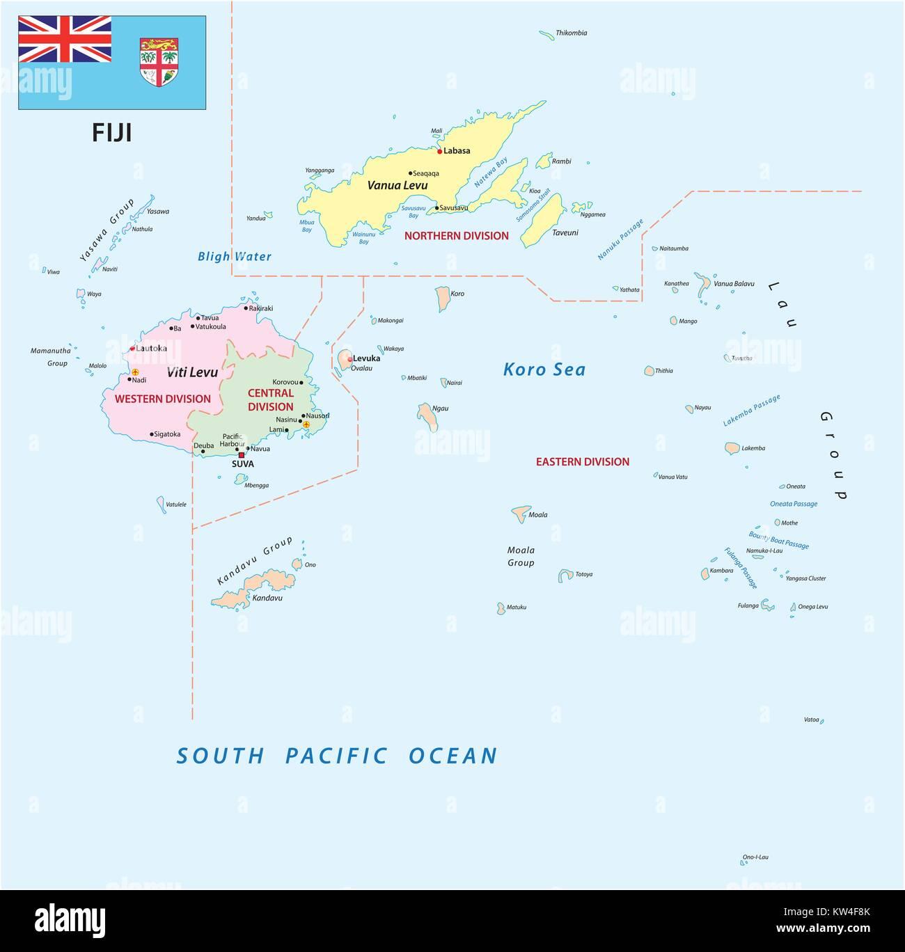 Republic Of Fiji Stock Photos Republic Of Fiji Stock Images Alamy - Republic of fiji map