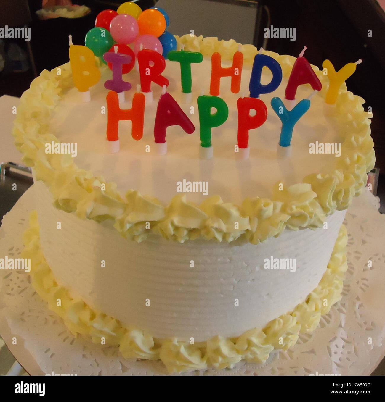 Birthday Cake In Ice Cream Shop Basking Ridge New Jersey
