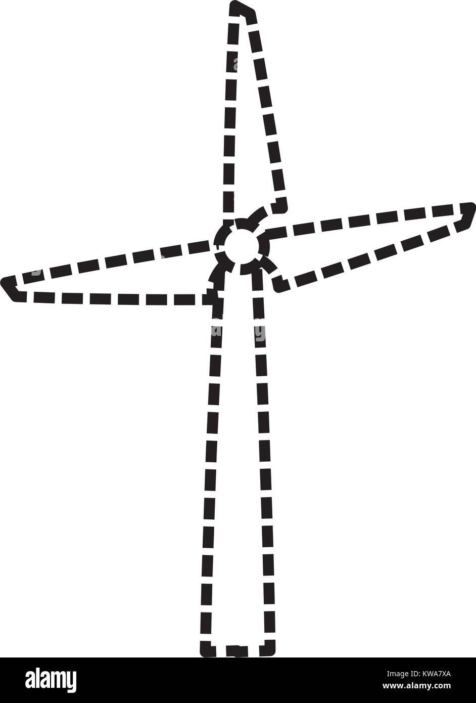 Turbine generator black and white stock photos images alamy wind turbine energy cartoon stock image biocorpaavc