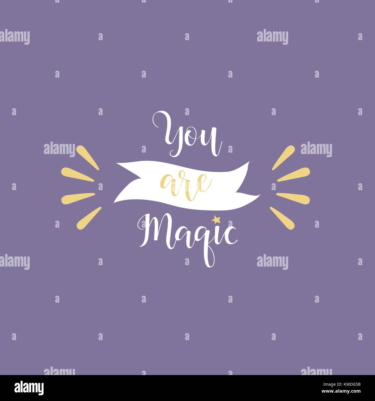 You Are Magic Calligraphy Inspiration Graphic Design Typography