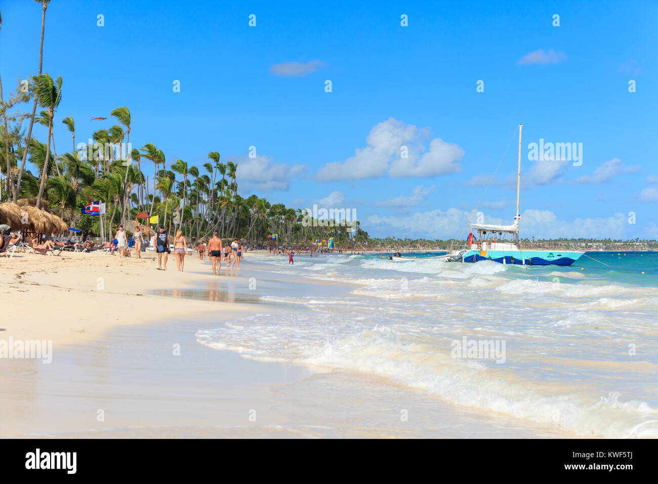 relaxing on the beach in dominican republic Playa rincón was voted the second best beach in the world due to its turquoise waters and lush surroundings samana is a peninsula located on the north east coast of the dominican republic, filled with lush scenery and natural landscapes.