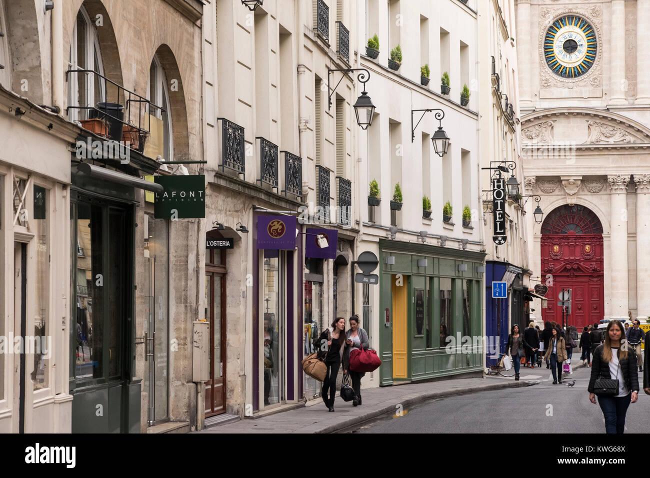 4th arrondissement stock photos 4th arrondissement stock images alamy. Black Bedroom Furniture Sets. Home Design Ideas