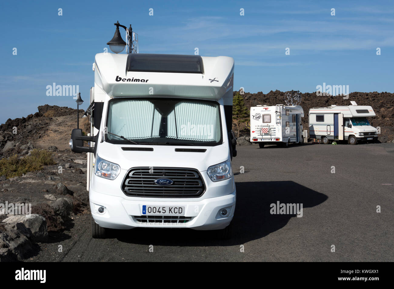 Caravans In The Canary Islands