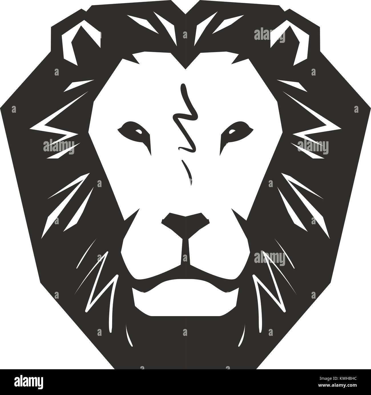 Lion logo stock photos lion logo stock images alamy lion logo animal wildlife symbol or icon vector illustration stock image biocorpaavc Gallery