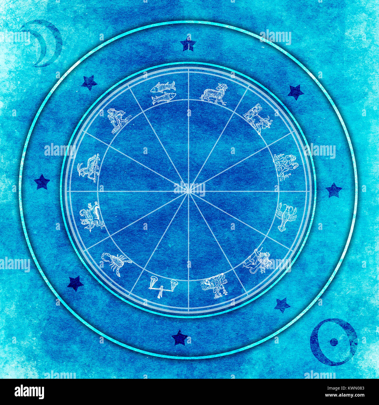 Astrology chart with all zodiac signs stock photo royalty free astrology chart with all zodiac signs nvjuhfo Image collections