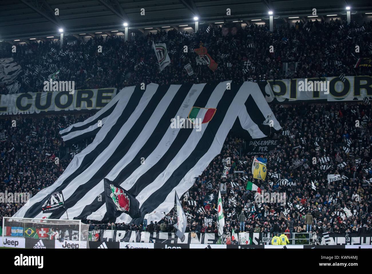 0eafd01450 Juventus supporter during the Tim Cup football match Juventus FC vs Torino  FC. Juventus won 3-0 in Turin