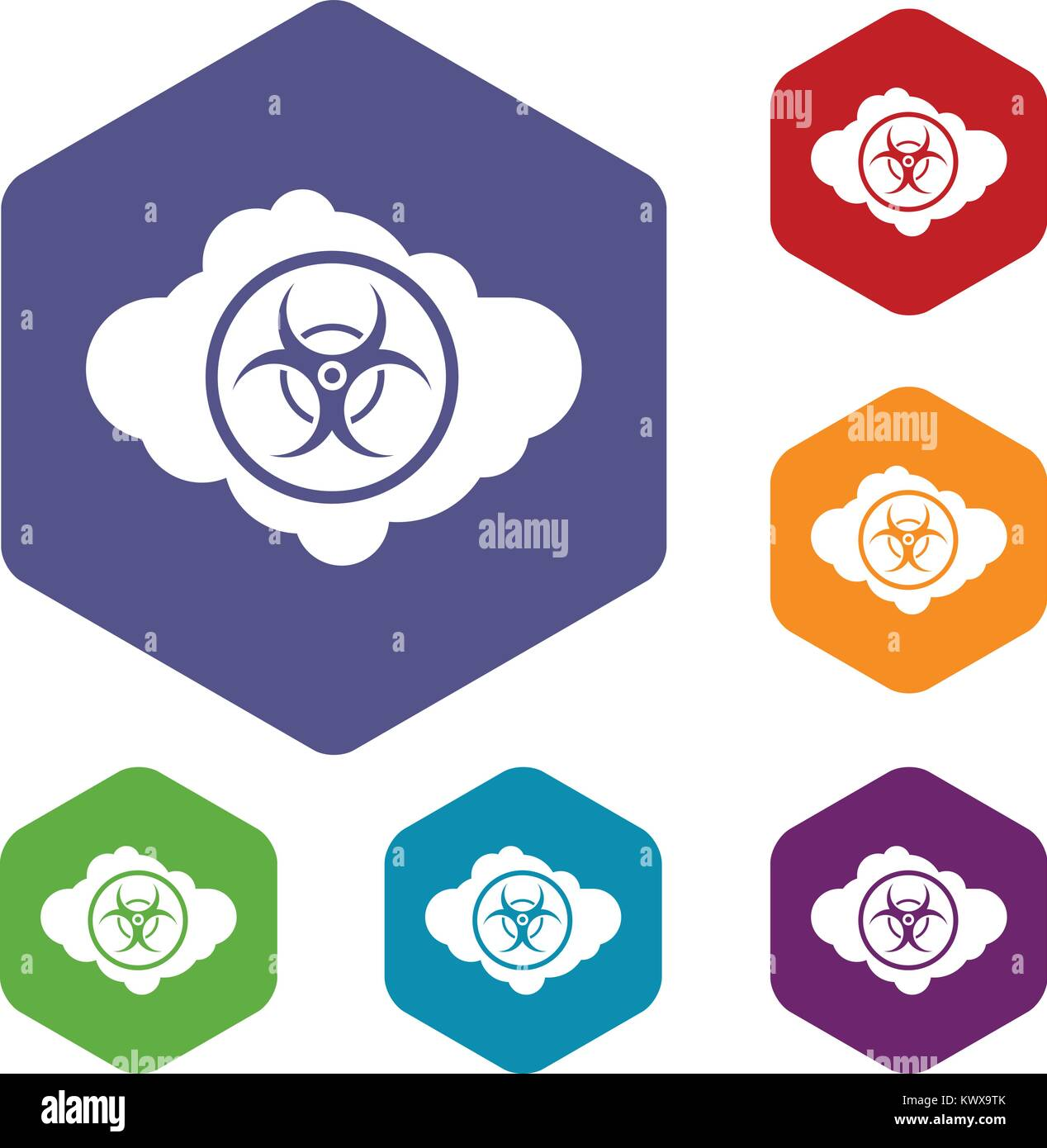 Radiation word cloud stock photos radiation word cloud stock cloud with biohazard symbol icons set stock image biocorpaavc Image collections