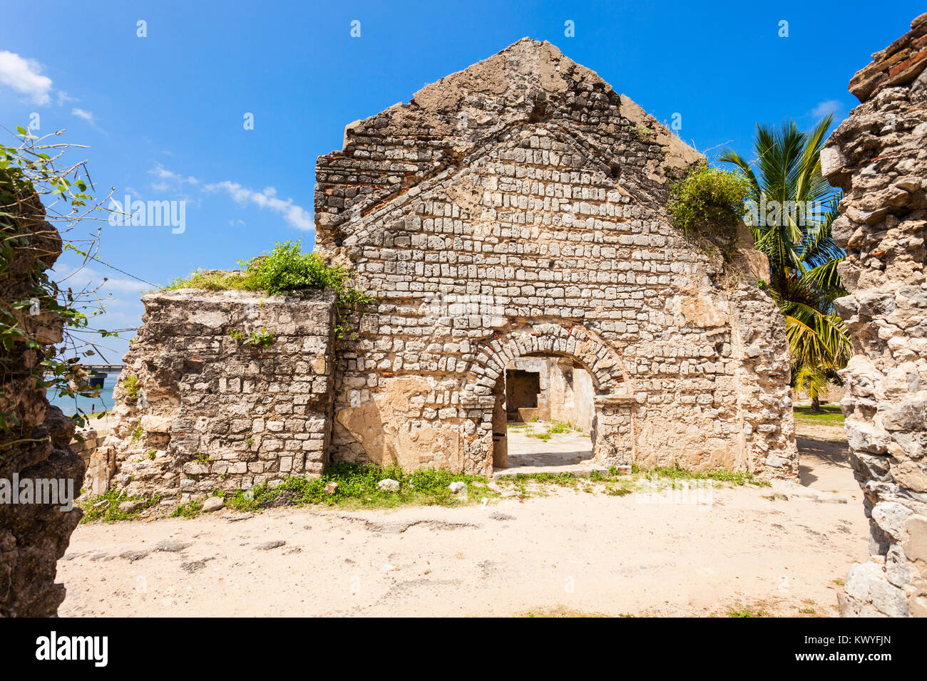 Mannar Fort Is Located On Mannar Island Sri Lanka Fort Built By - Where is sri lanka located