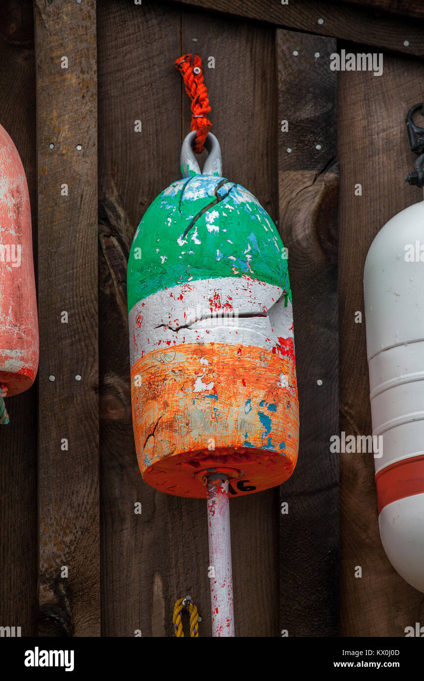 Painted Buoys Stock Photos & Painted Buoys Stock Images - Alamy