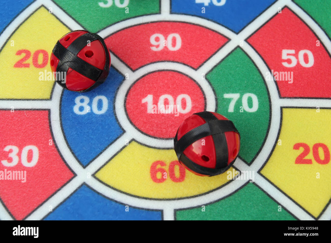 Kids Targeting Toy Kids Dart Game Stock Photo 170991304 Alamy