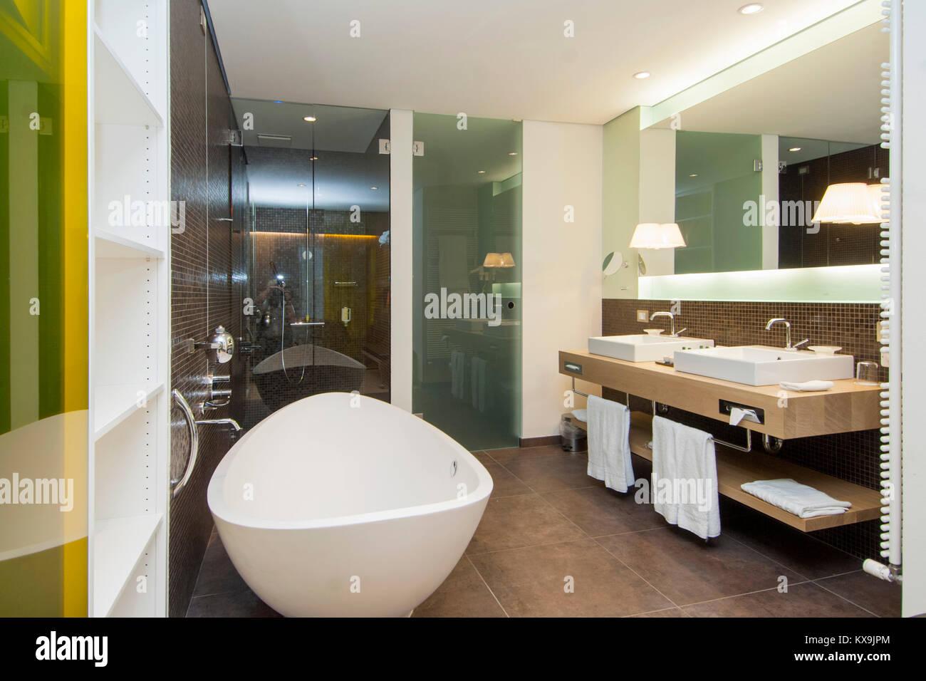 Italien, Südtirol, Meran, Hotel Therme Meran, Zimmer, Design Von Matteo Thun