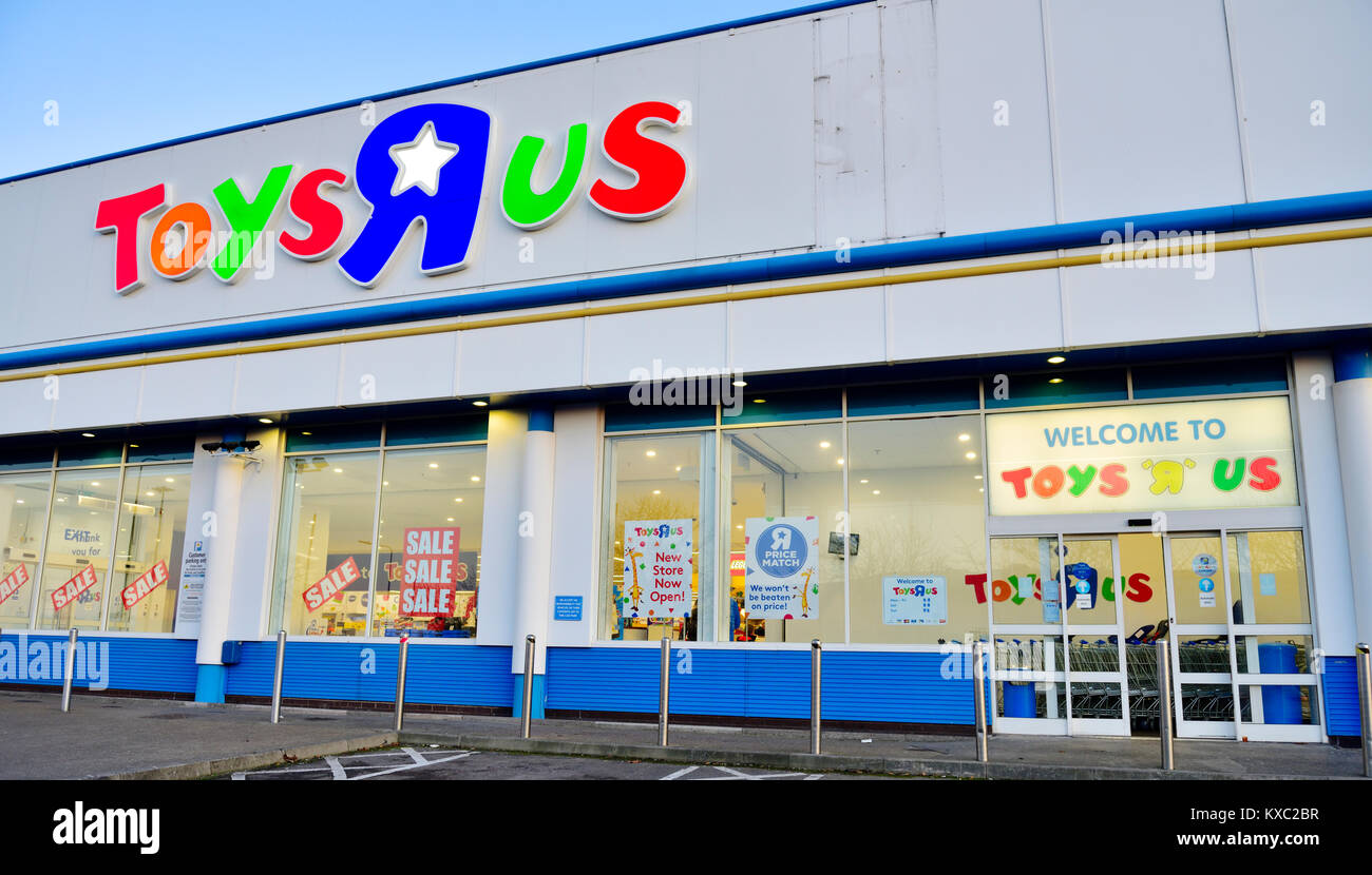Toysrus Toy Store Half Price Sale Sign On Uk Store Cribbs Causeway