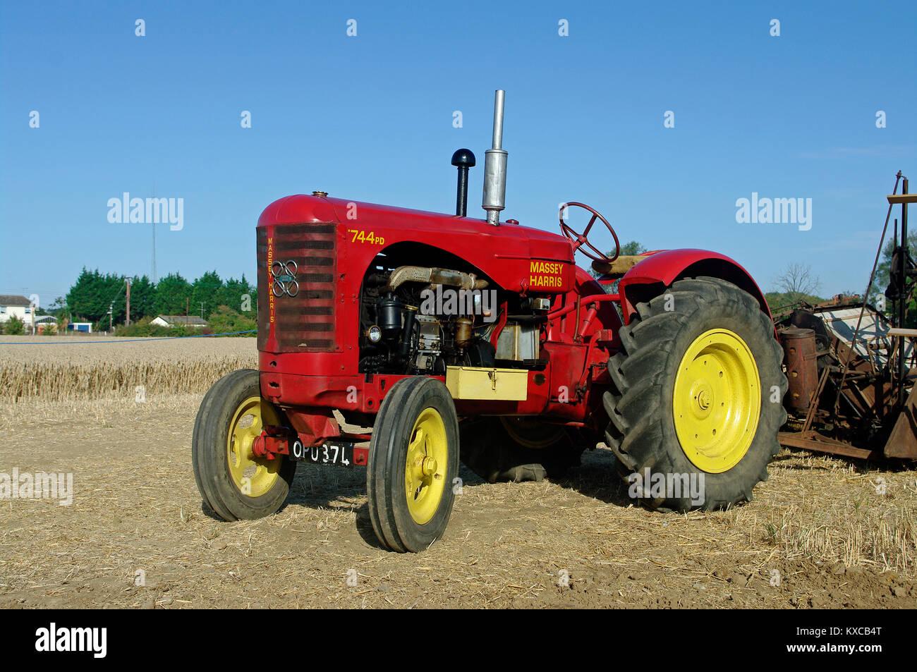 massey harris 744 tractor