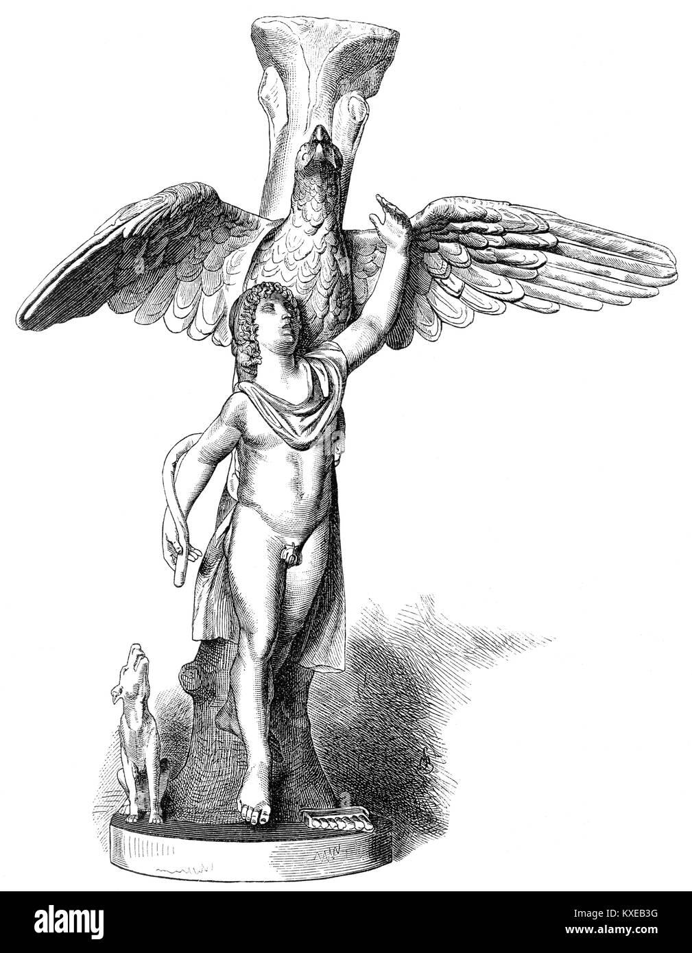 Greek mythology black and white stock photos images alamy ganymede or ganymedes greek mythology stock image buycottarizona