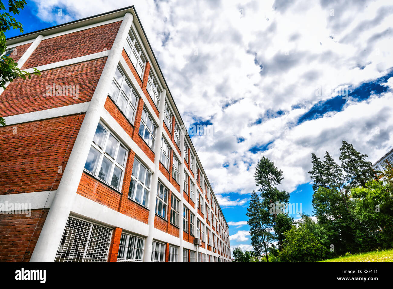 Home Design Zlín Part - 29: Architectural Design Of Administrative Buildings In Zlin, Czech Republic