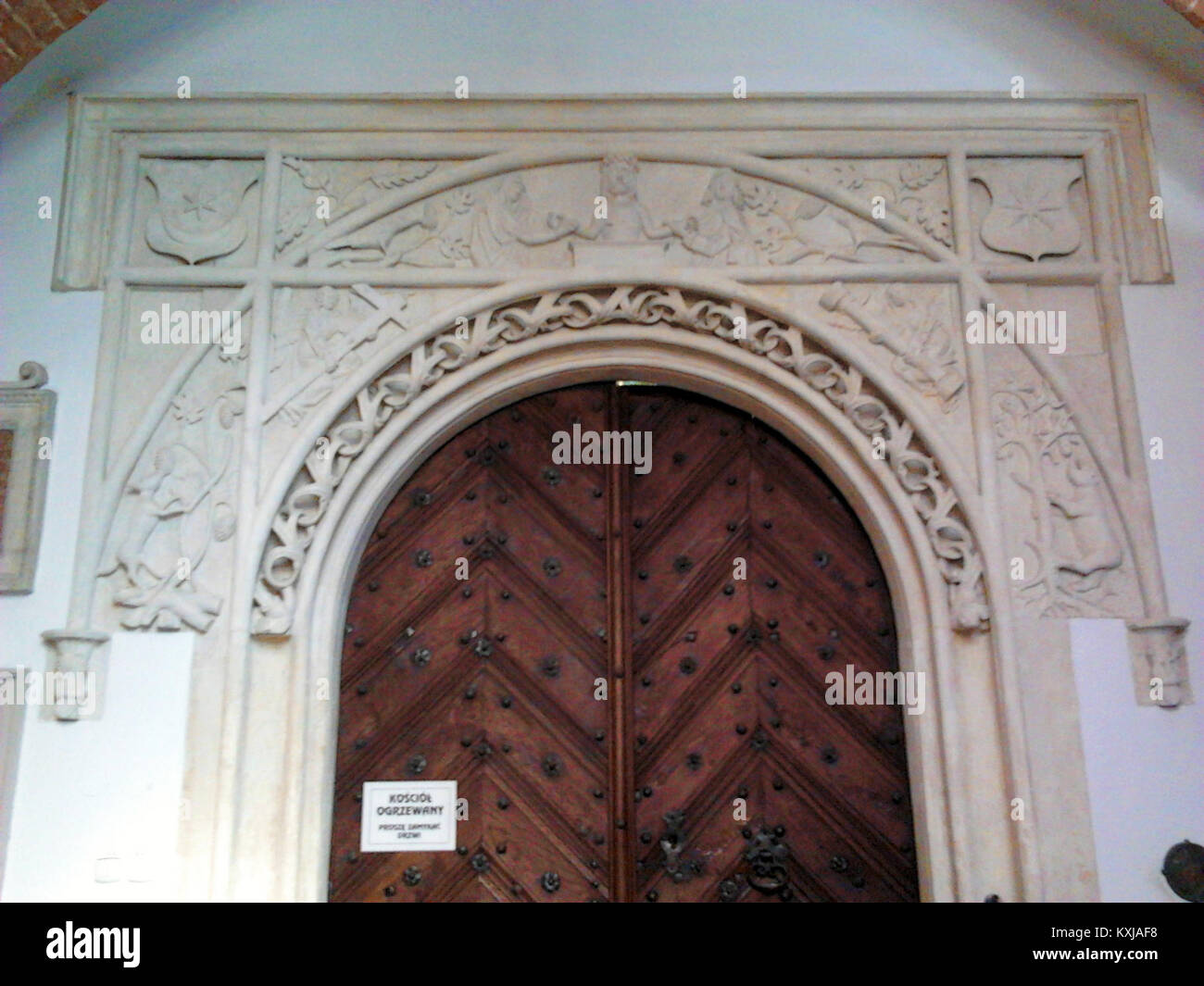 Anonymous Main portal of the Tarnów Cathedral 01 & Anonymous Main portal of the Tarnów Cathedral 01 Stock Photo ...