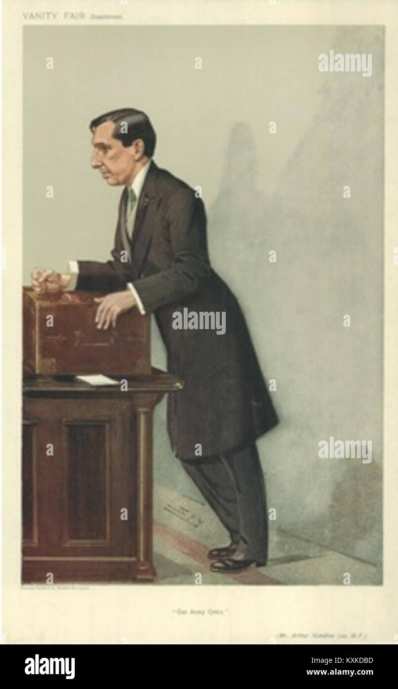 Superior Arthur Hamilton Lee, 1907 01 23, Vanity Fair