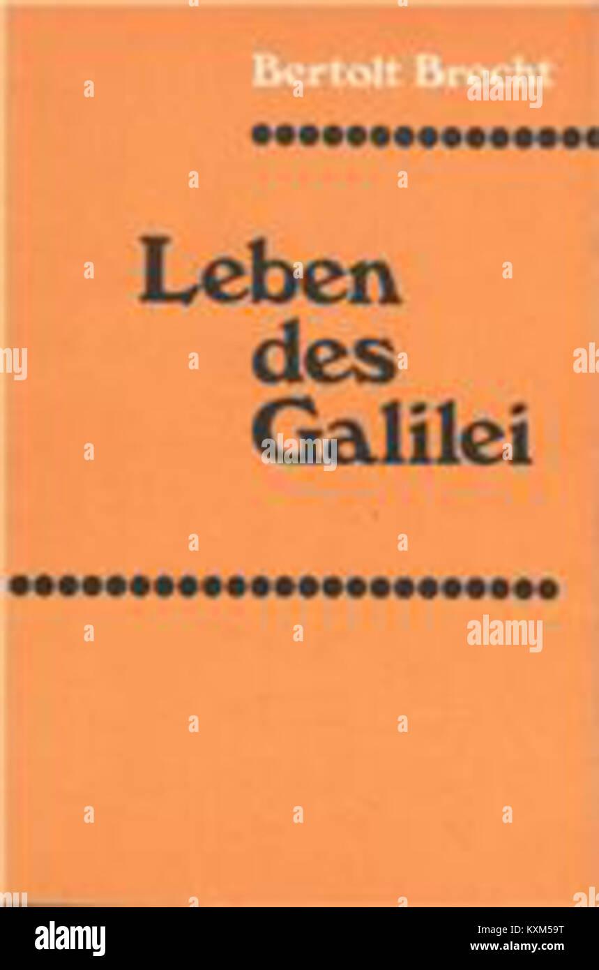 Bertolt Brecht Leben Des Galilei 1938 Stock Alamy