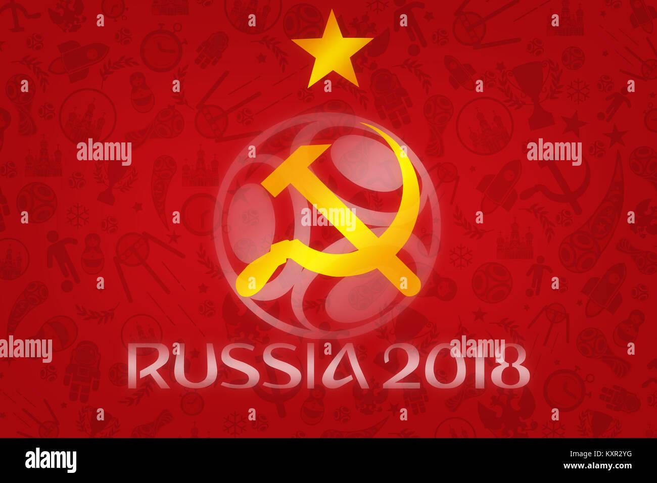 World Cup Football 2018 Wallpaper World Soccer Tournament In