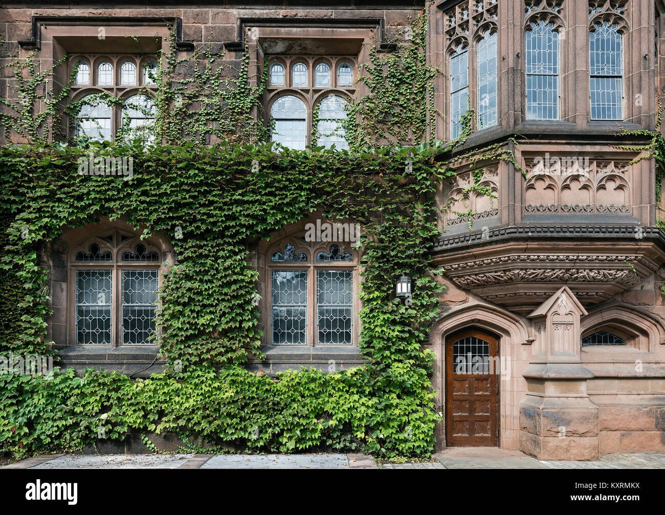 Ivy League Architecture, Princeton University, New Jersey, USA.   Stock  Image