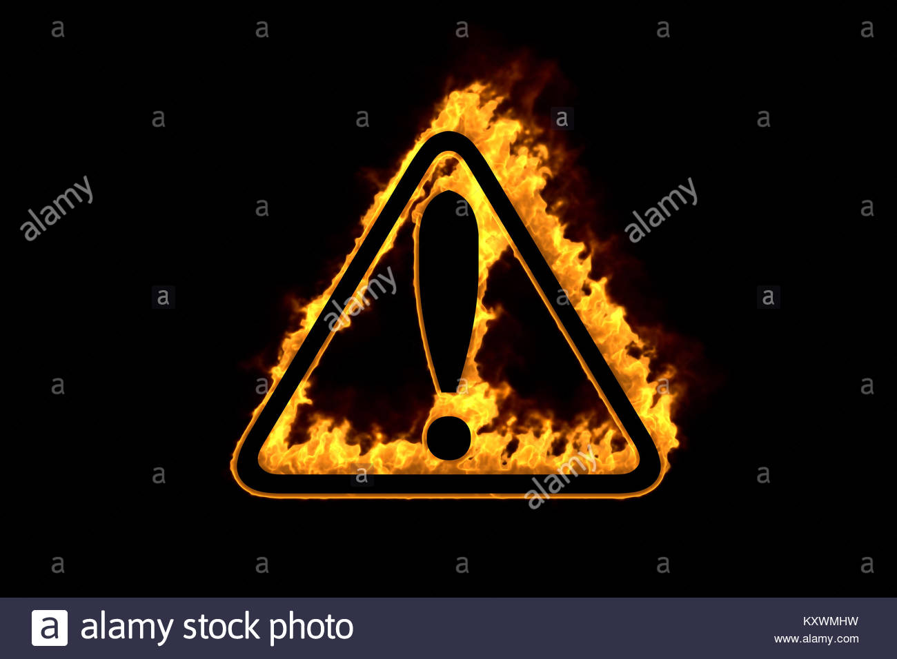Fire hazard symbol offensive football formations diagrams fire hazard symbol isolated on black background 3d illustration fire hazard symbol isolated on black background biocorpaavc Gallery