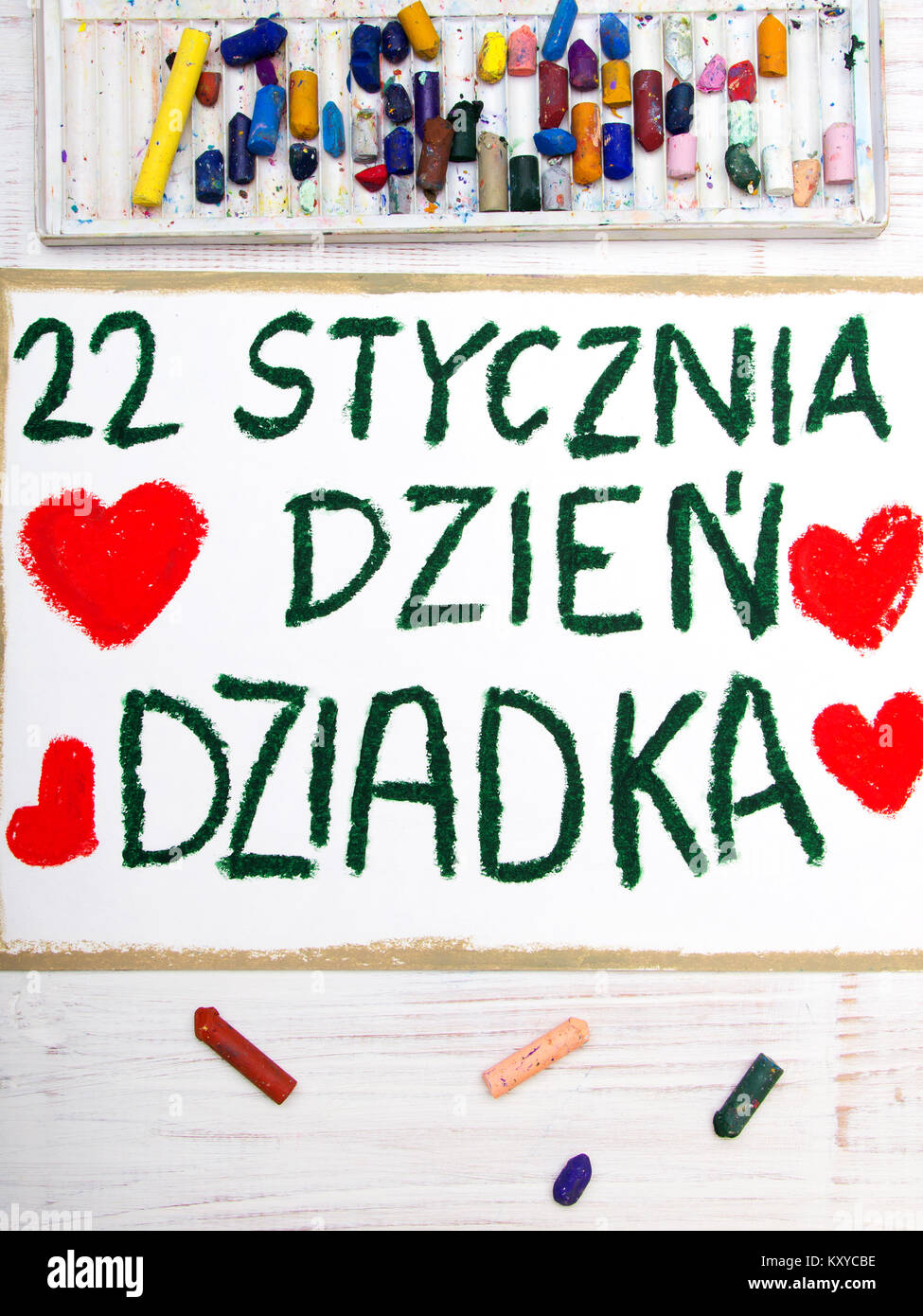 polish grandfather s day card with words grandfather s day