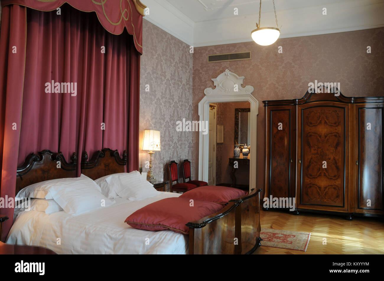 Bedroom Suite Grand Hotel Et Milan Verdi Milan Italy Stock - Italian bedroom furniture 2013