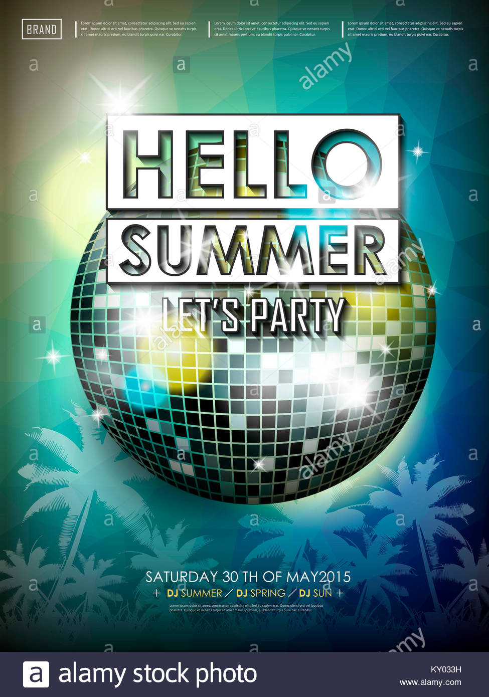 modern summer flyer design posters modern and summer koni polycode co