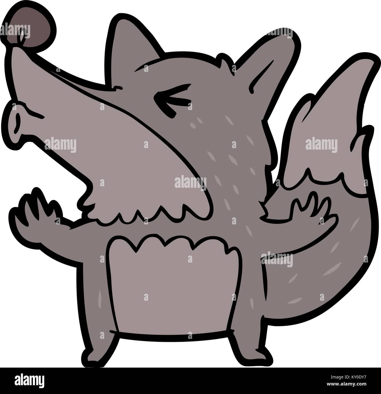 Halloween Werewolf Clip Art