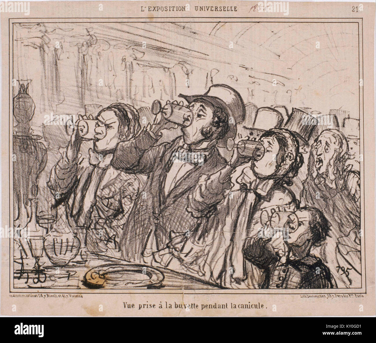 Category:Le Ventre Législatif by Honoré Daumier