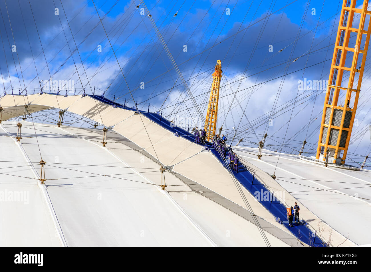 Climbing Millennium Dome Stock Photos Amp Climbing