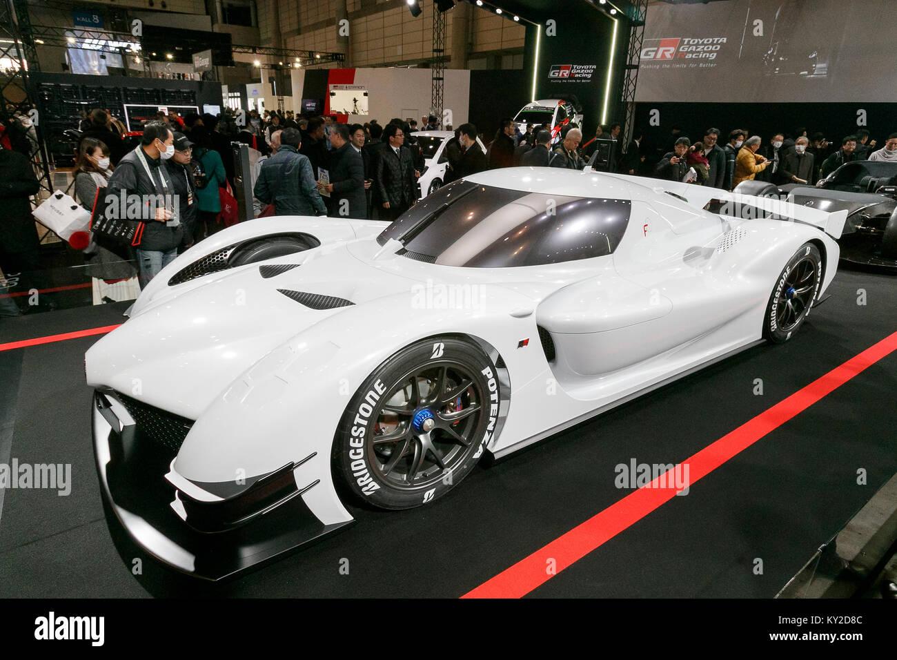 Chiba Japan 12th January 2018 Toyota S Gr Super Sport Concept