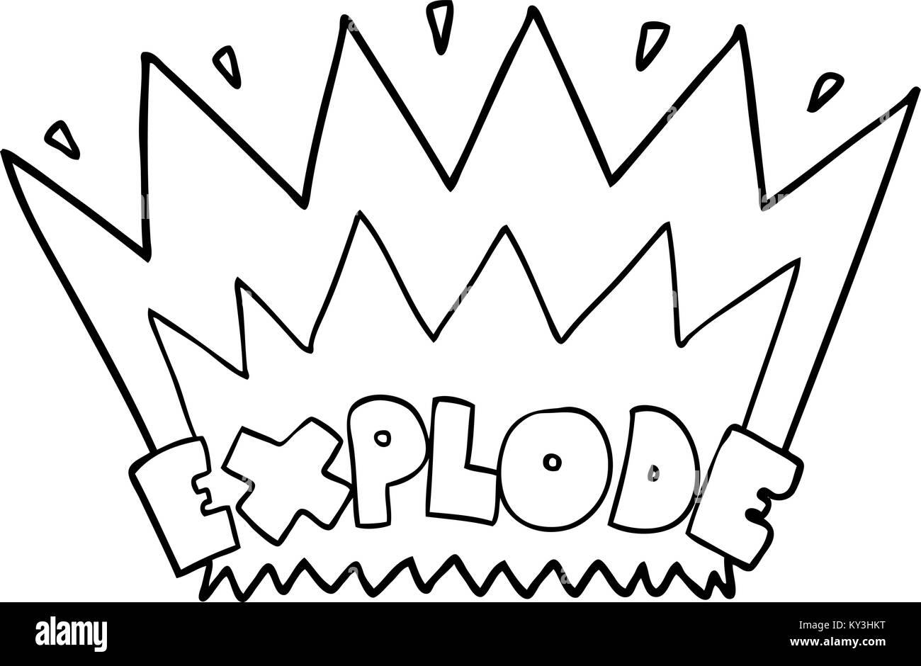 Cartoon explosion symbol stock photos cartoon explosion symbol cartoon explosion stock image buycottarizona
