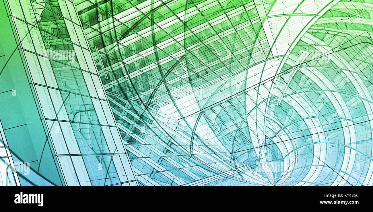 Wireframe city with buildings and blueprint design art stock photo wireframe city with buildings and blueprint design art malvernweather Gallery