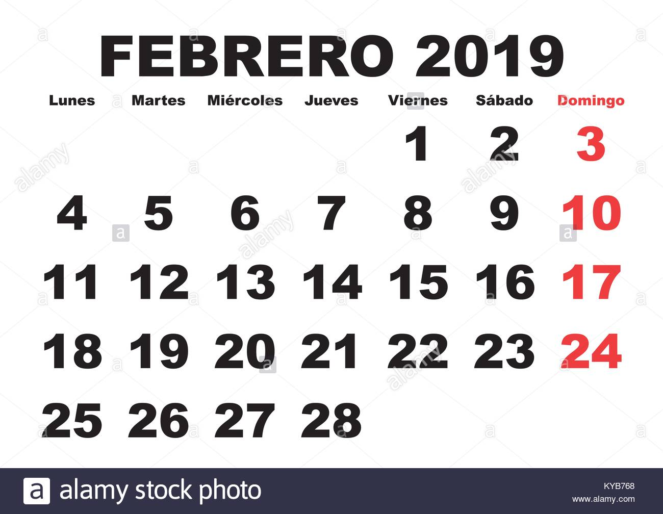how to say february in spanish