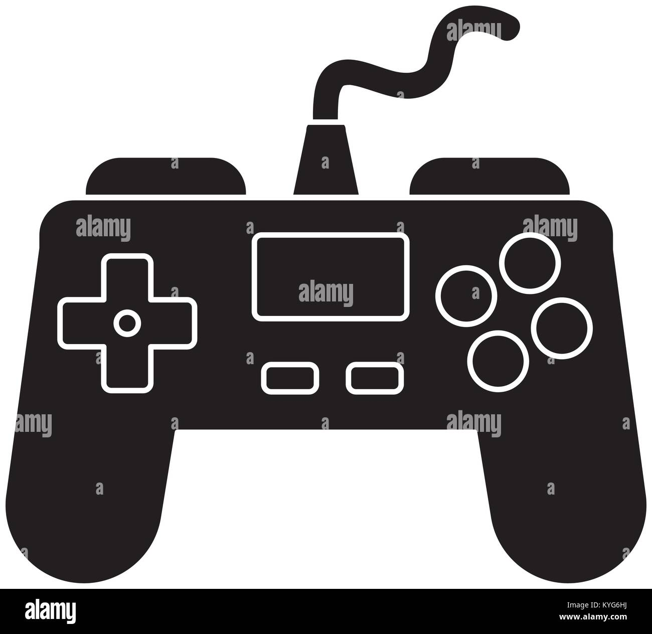 Gamepad videogame symbol stock vector art illustration vector gamepad videogame symbol gamepad videogame symbol stock vector buycottarizona