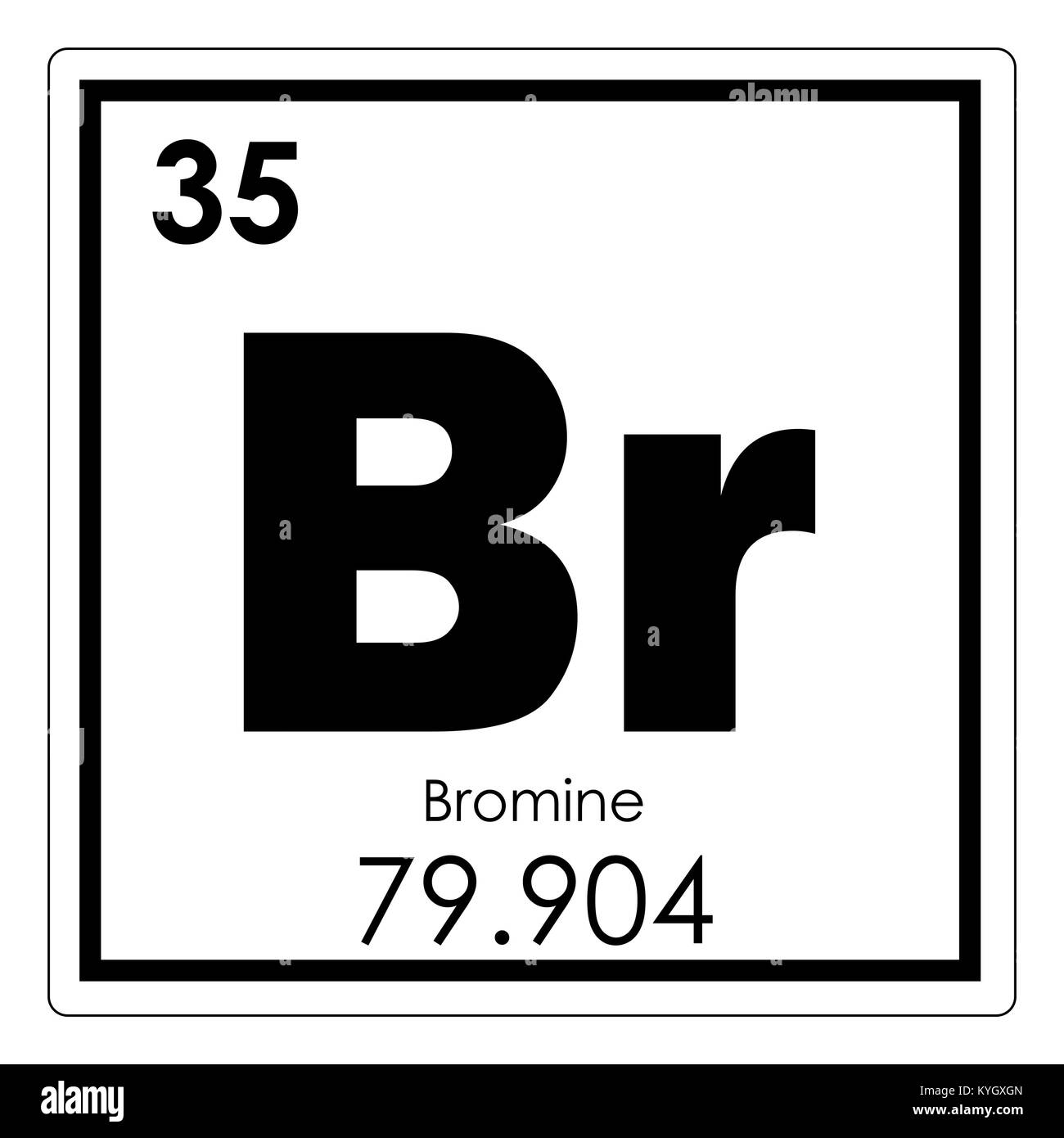 Bromine chemical element stock photos bromine chemical element bromine chemical element periodic table science symbol stock image buycottarizona