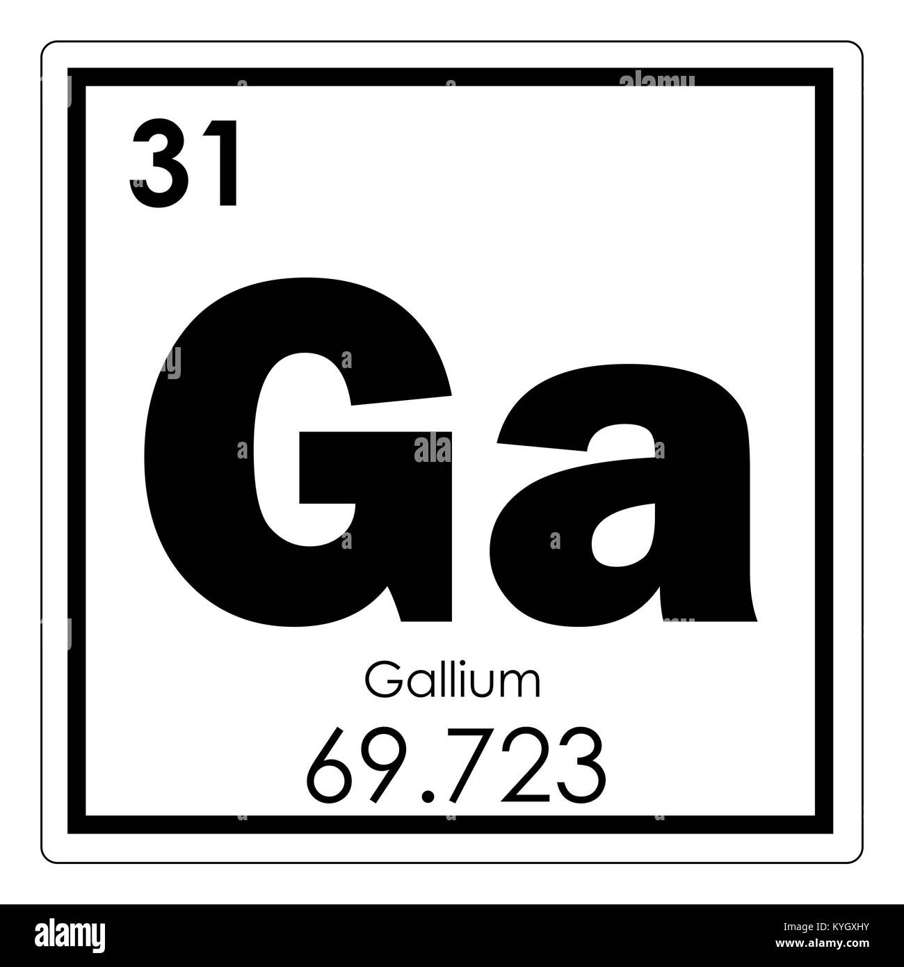 Symbol for gallium image collections symbol and sign ideas gallium chemical element periodic table science symbol stock photo gallium chemical element periodic table science symbol buycottarizona