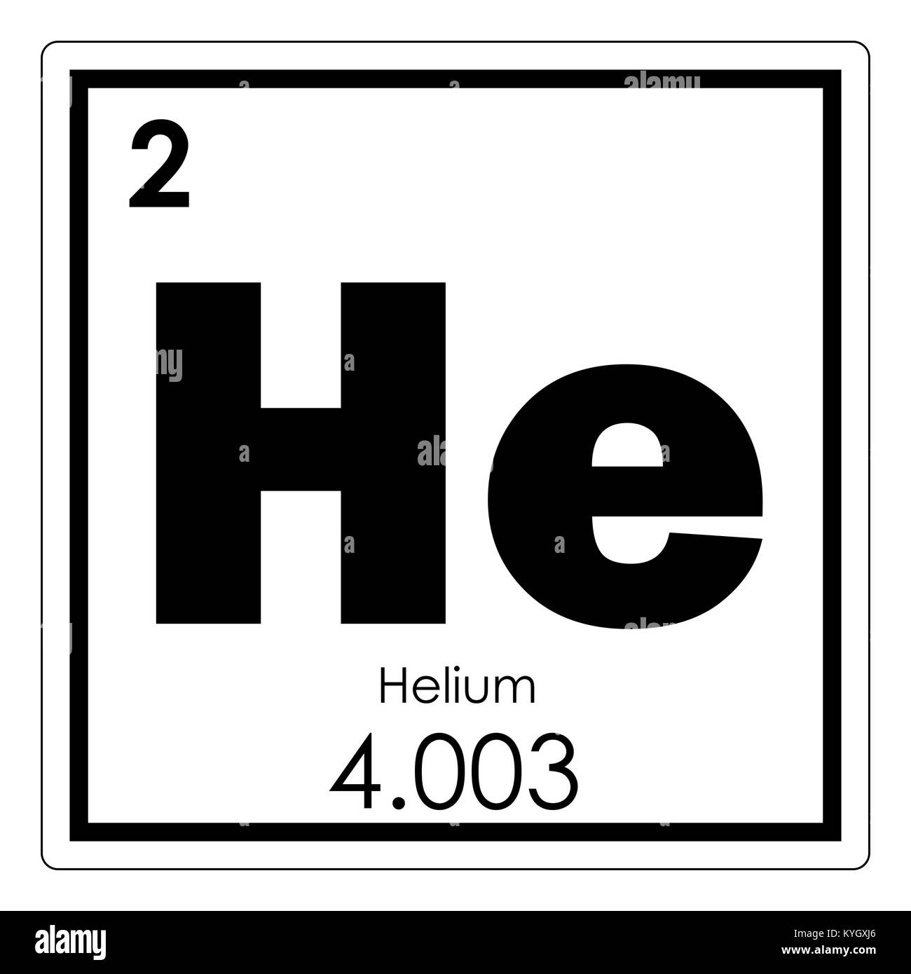 Helium chemical element periodic table science symbol stock photo helium chemical element periodic table science symbol buycottarizona